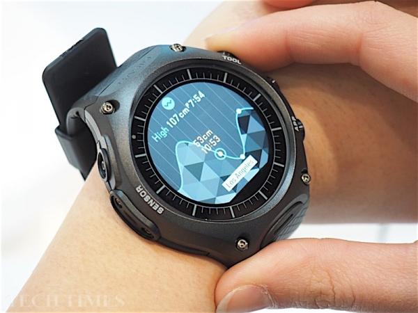 smartwatch Casio Android Wear Las Vegas, prezzi info caratteristiche