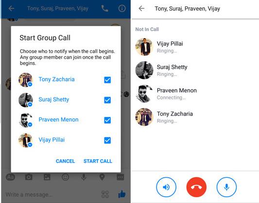 Facebook sfida Skype con le telefonate di gruppo