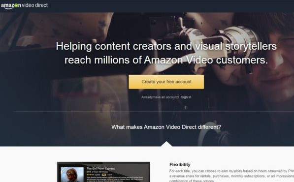 Amazon sfida YouTube con Amazon Video Direct