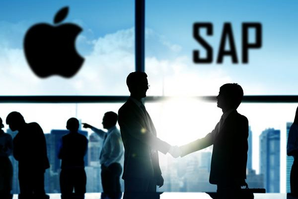 Apple collabora con Sap per nuove app native aziendali