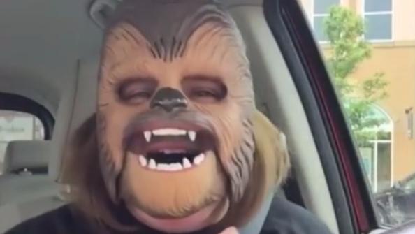 Facebook Live, mamma Chewbecca è il video più visto