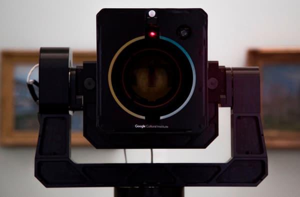 Google Art Camera, le opere d'arte ad altissima risoluzione