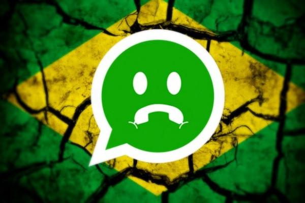 Il Brasile blocca WhatsApp per 72 ore