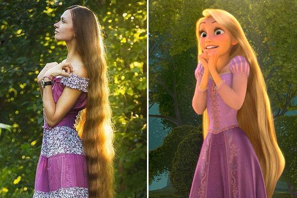 Non taglia i capelli da 13 anni, la vera Rapunzel è una star su Instagram