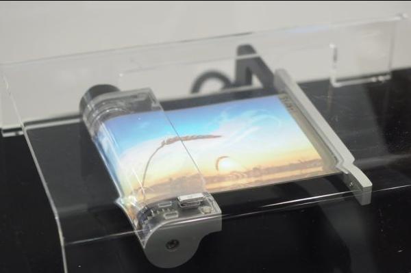 Samsung presenta lo smartphone arrotolabile