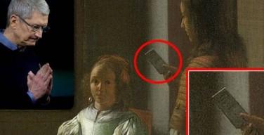 Tim Cook scopre un iPhone in un quadro del 1670