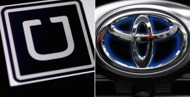 Toyota investe in Uber per uno scambio di servizi