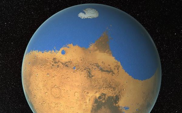 Tracce di tsunami su Marte