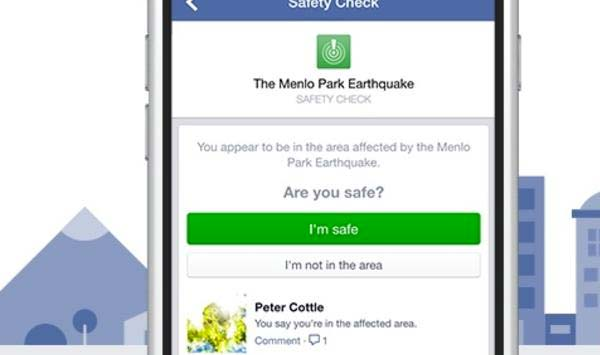 Strage di Nizza, Facebook attiva il Safety Check