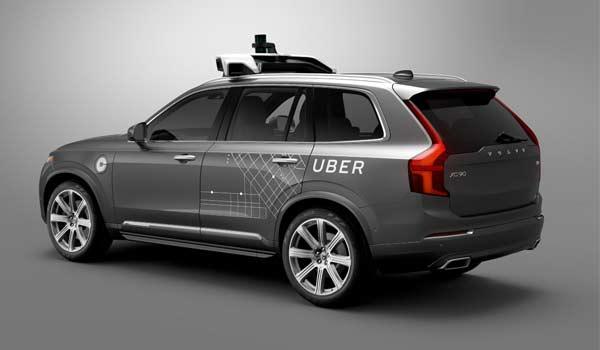 Uber e Volvo insieme per l'auto a guida autonoma
