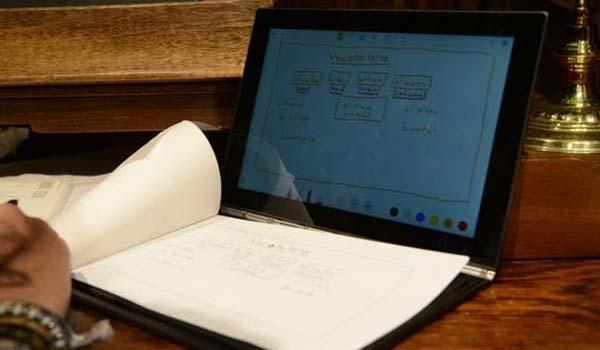 Yoga Book di Lenovo, un quaderno al posto del PC