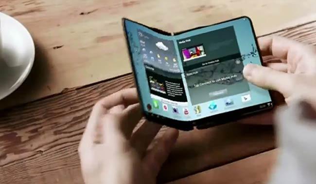Samsung Galaxy X potrebbe avere lo schermo pieghevole